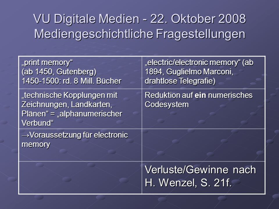 VU Digitale Medien - 22.