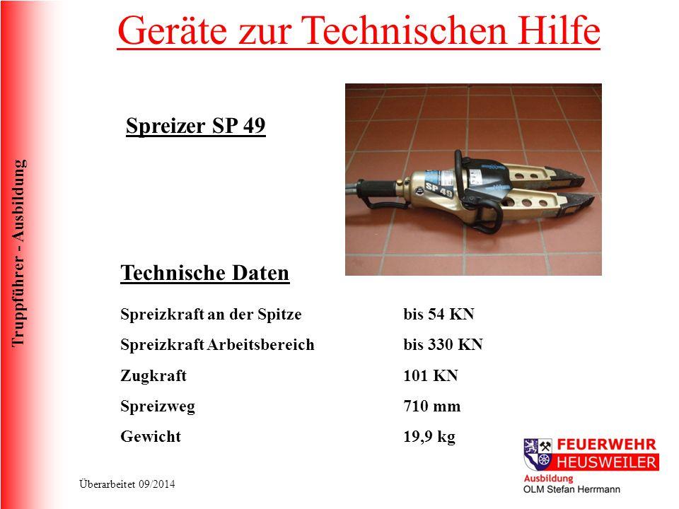 Truppführer - Ausbildung Überarbeitet 09/2014 Zu viele Helfer.