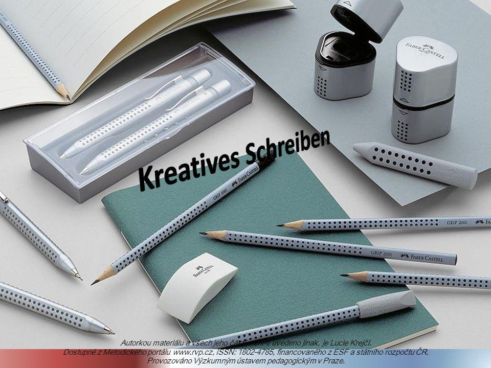 Autorkou materiálu a všech jeho částí, není-li uvedeno jinak, je Lucie Krejčí.