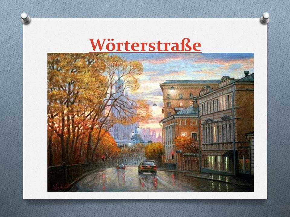 Wörterstraße