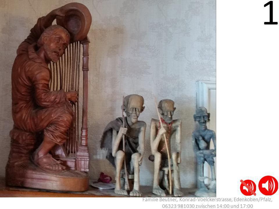 1 - 8 Familie Beutner, Konrad-Voelckerstrasse, Edenkoben/Pfalz, Tel: 06323 981030 zwischen 14:00 und 17:00 11 -12 13 - 17 18 9 20 25 26 - 29 30 23 - 24 19