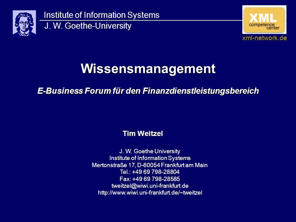 Tim Weitzel, J.W.