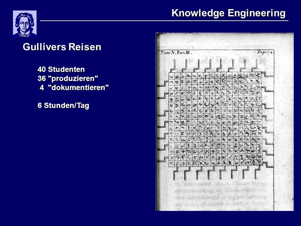 Knowledge Engineering Gullivers Reisen 40 Studenten 36