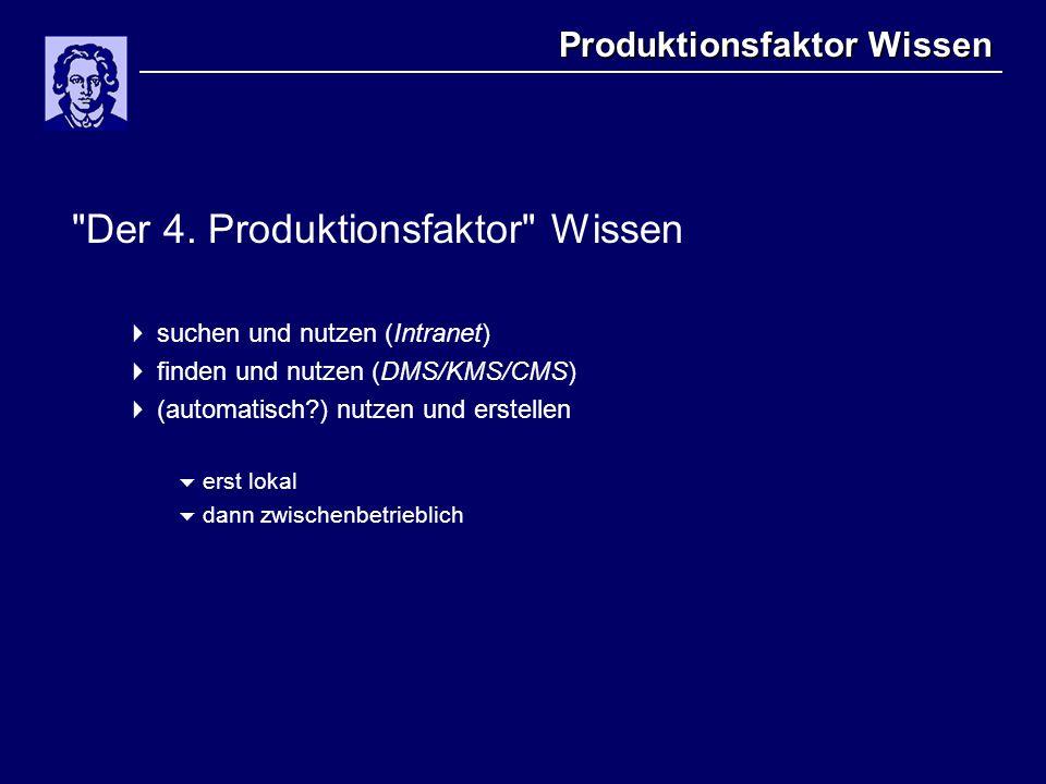 Produktionsfaktor Wissen Der 4.