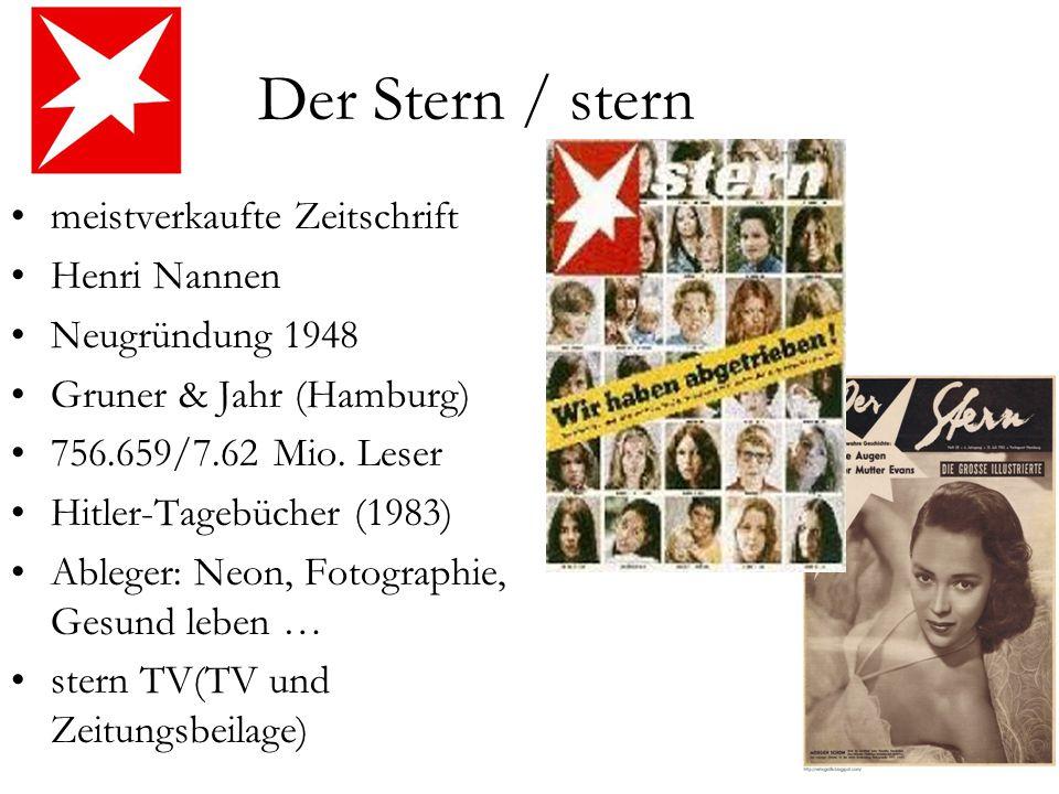 Gruner Und Jahr Zeitschriften deutsche presselandschaft ppt herunterladen