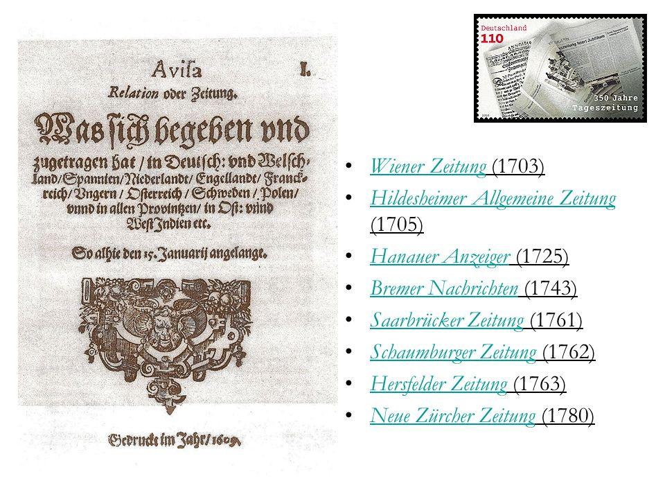 Frankfurter Allgemeine (F.A.Z.) Zeitung für Deutschland Frankfurt, seit 1949 Frankfurter Allgemeine Zeitung GmbH 306.779/319.298 konservativ Magazin