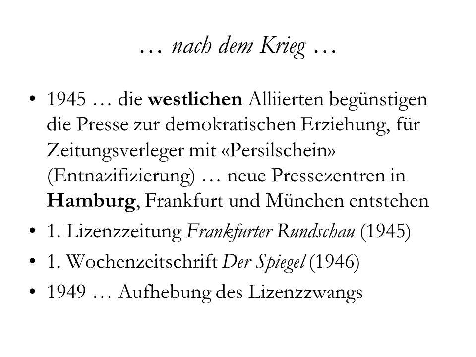 DIE WELT Unabhängige Tageszeitung für Deutschland Berlin, seit 1946 Axel Springer SE 208.045/0.71 Mio.