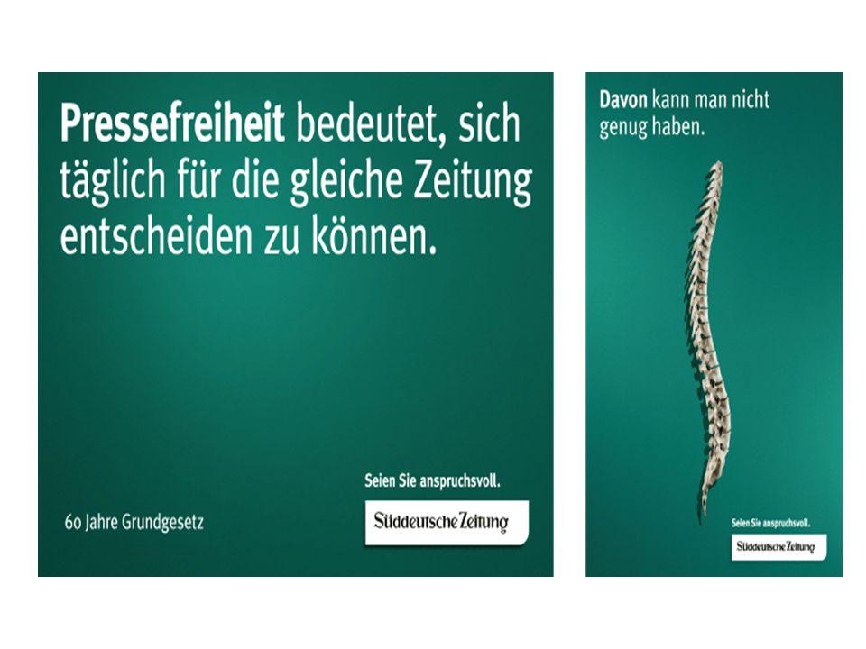 DDR und BRD 1949 …das Grundgesetz in der BRD bringt die Pressefreiheit 1954-90 Zuwachs an Tageszeitungen von 13 auf 25 Mio.
