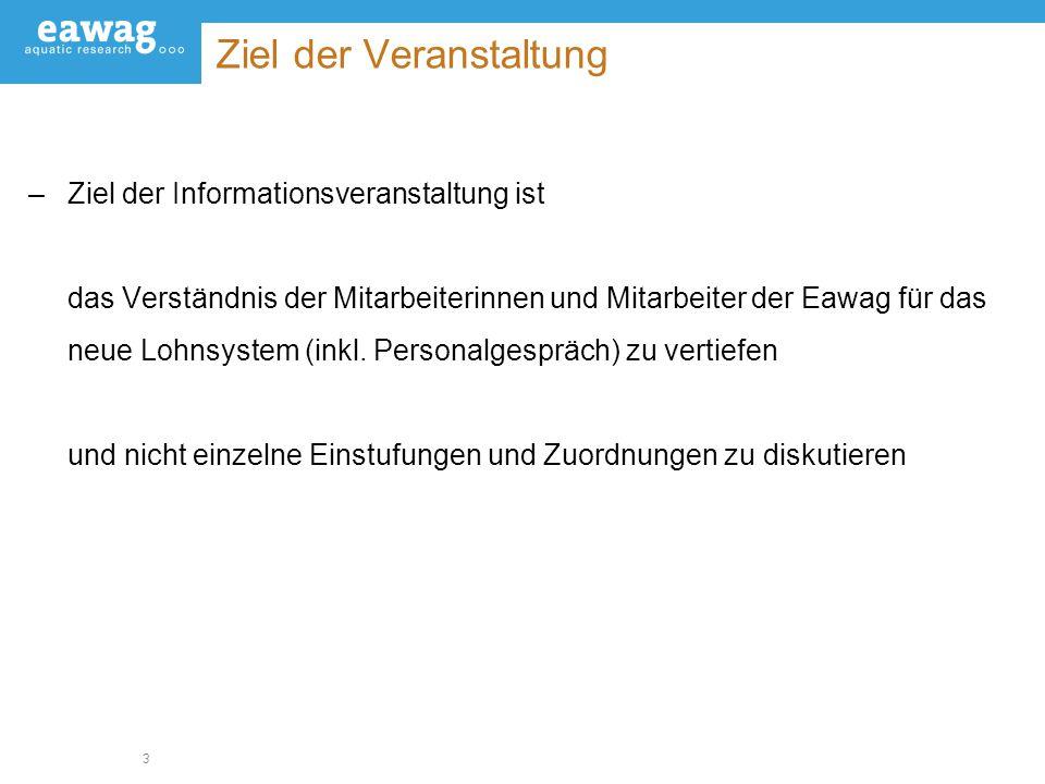 4 Das neue Lohnsystems (NLS) / Eckdaten –Bundesratsentscheid vom 23.9.05 zur überarbeiteten PVO –Einführung (Überführung) per 1.