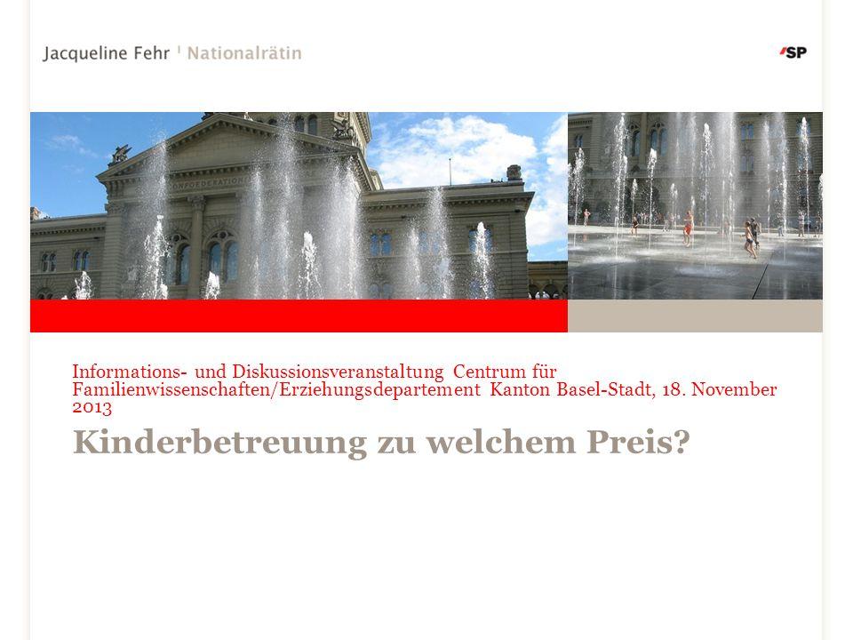 Informations- und Diskussionsveranstaltung Centrum für Familienwissenschaften/Erziehungsdepartement Kanton Basel-Stadt, 18.