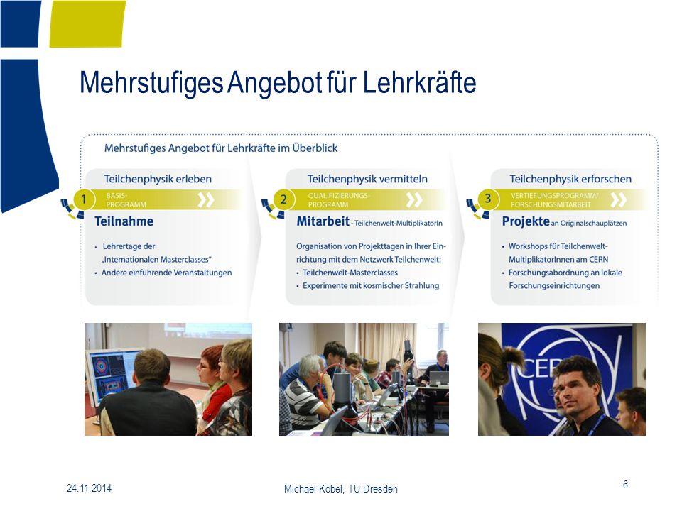 24.11.2014 Michael Kobel, TU Dresden 7 Das Netzwerk = Wir.
