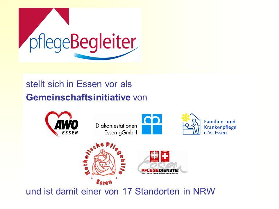 stellt sich in Essen vor als Gemeinschaftsinitiative von und ist damit einer von 17 Standorten in NRW