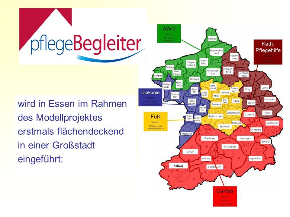 wird in Essen im Rahmen des Modellprojektes erstmals flächendeckend in einer Großstadt eingeführt: