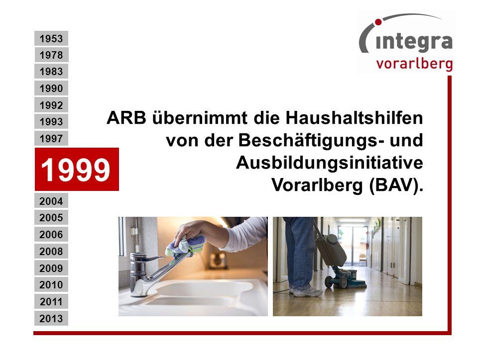 ARB übernimmt die Haushaltshilfen von der Beschäftigungs- und Ausbildungsinitiative Vorarlberg (BAV).