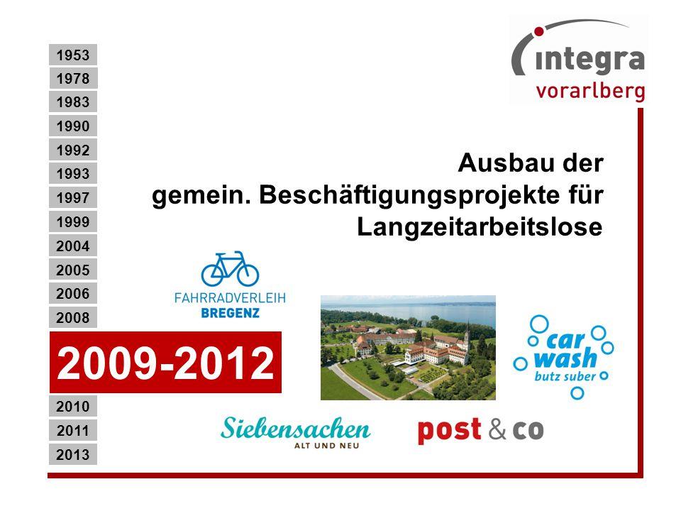 Umzug der Metallqualifizierung und Berufsfindung in den neuen Hauptsitz in Feldkirch.