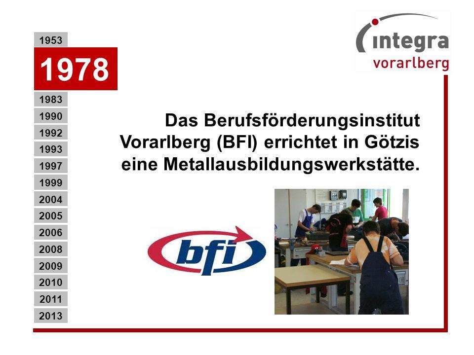 Das Berufsförderungsinstitut Vorarlberg (BFI) errichtet in Götzis eine Metallausbildungswerkstätte.