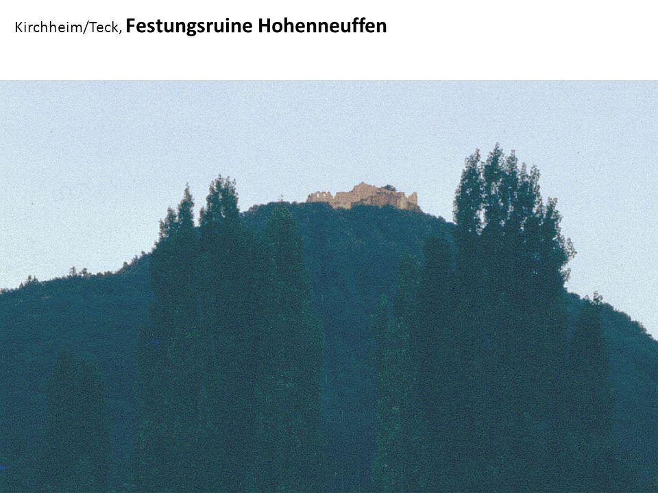 Kirchheim/Teck, Festungsruine Hohenneuffen