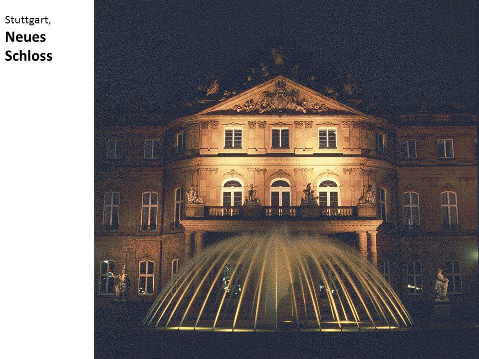 Stuttgart, Neues Schloss
