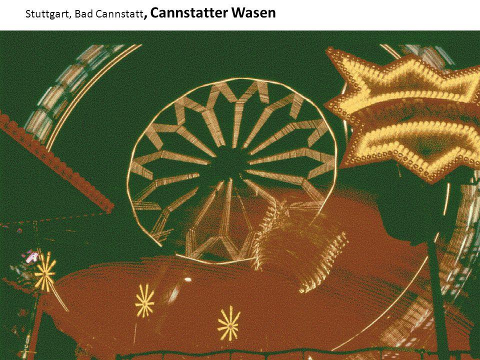 Stuttgart, Bad Cannstatt, Cannstatter Wasen