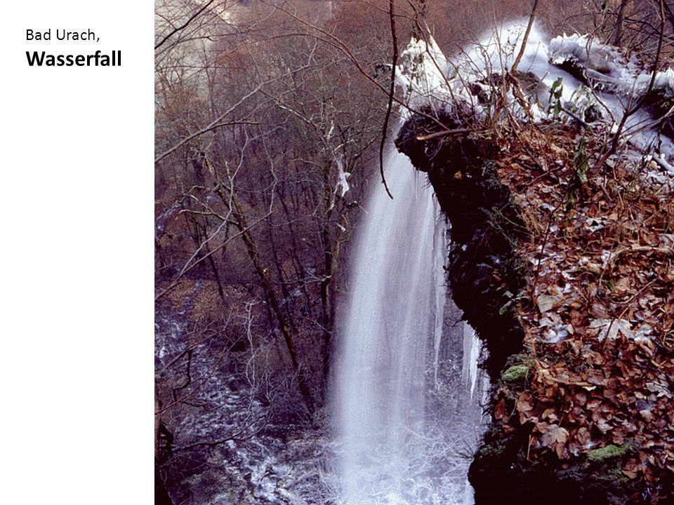 Bad Urach, Wasserfall