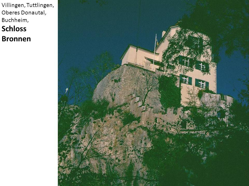 Villingen, Tuttlingen, Oberes Donautal, Buchheim, Schloss Bronnen