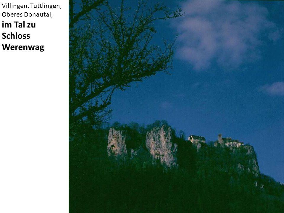 Villingen, Tuttlingen, Oberes Donautal, im Tal zu Schloss Werenwag