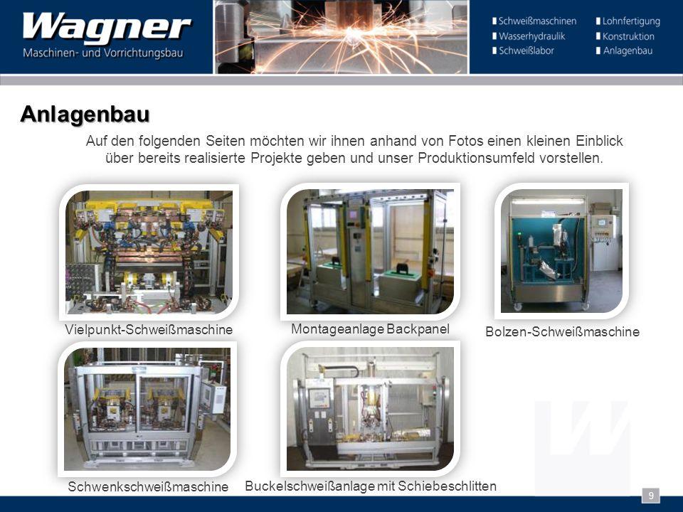 Anlagenbau Auf den folgenden Seiten möchten wir ihnen anhand von Fotos einen kleinen Einblick über bereits realisierte Projekte geben und unser Produk