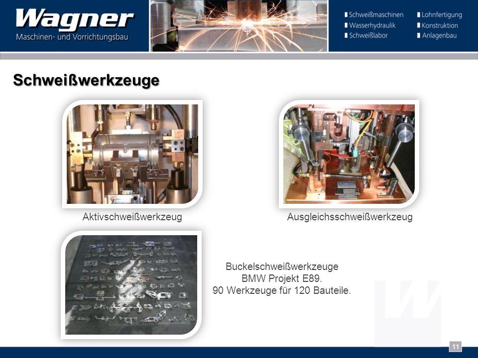 Schweißwerkzeuge Buckelschweißwerkzeuge BMW Projekt E89. 90 Werkzeuge für 120 Bauteile. AusgleichsschweißwerkzeugAktivschweißwerkzeug 11