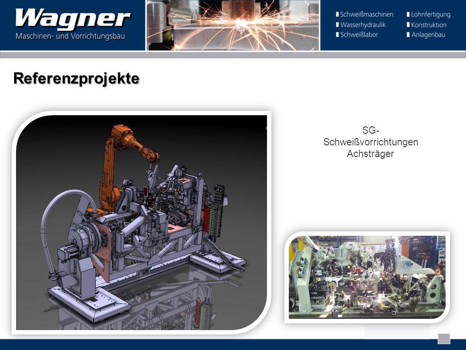 Referenzprojekte SG- Schweißvorrichtungen Achsträger