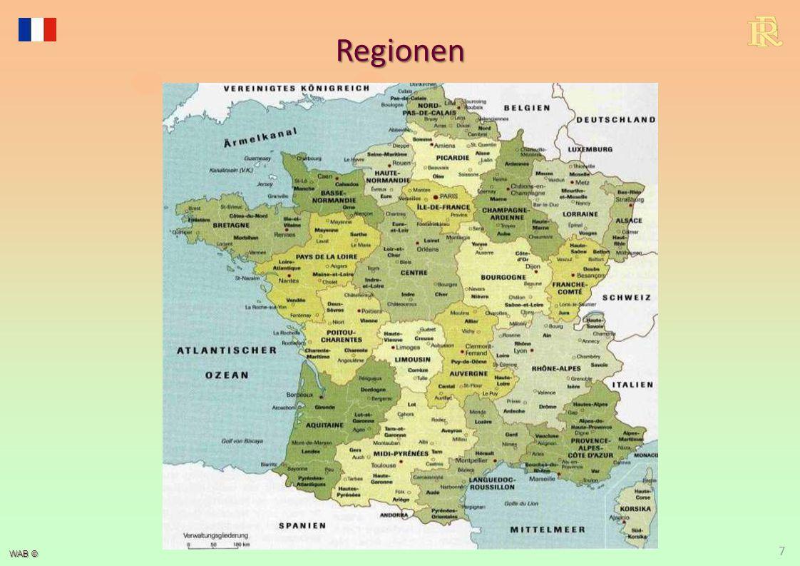 WAB © 18 Übersee-Departements/-territorien Französisch