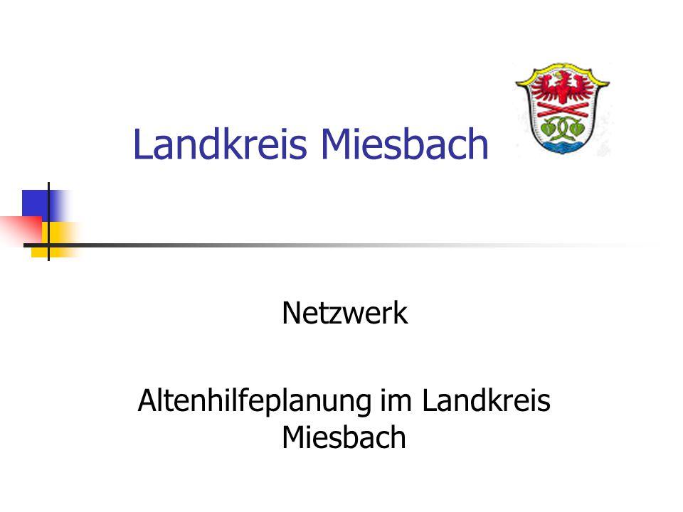 Landkreis Miesbach Netzwerk Altenhilfeplanung im Landkreis Miesbach