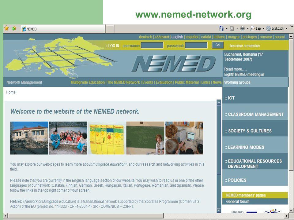 NEMED Netzwerk: eine neue Pädagogik für ungeteilten Schulklassen in Europa