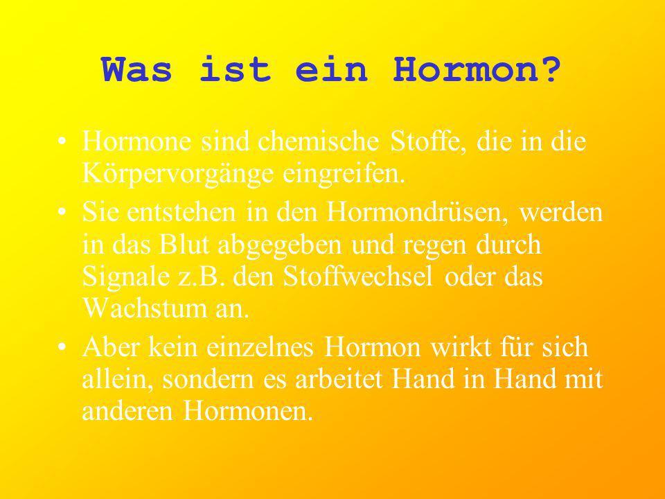 Hormone wirken auf drei verschiedene Arten auf ihr Zielorgan: Sie regulieren die Durchlässigkeit der äußeren und inneren Zellmembranen. Hormone beeinf