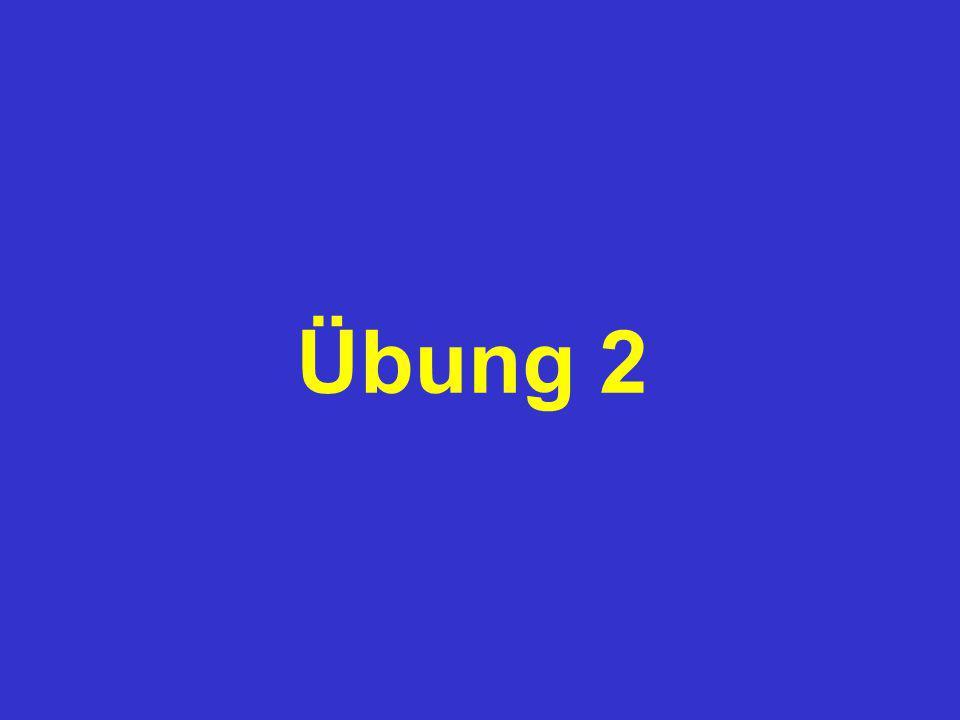 Übung 2 Dipl.-Ing. Dr. Günter Eichberger