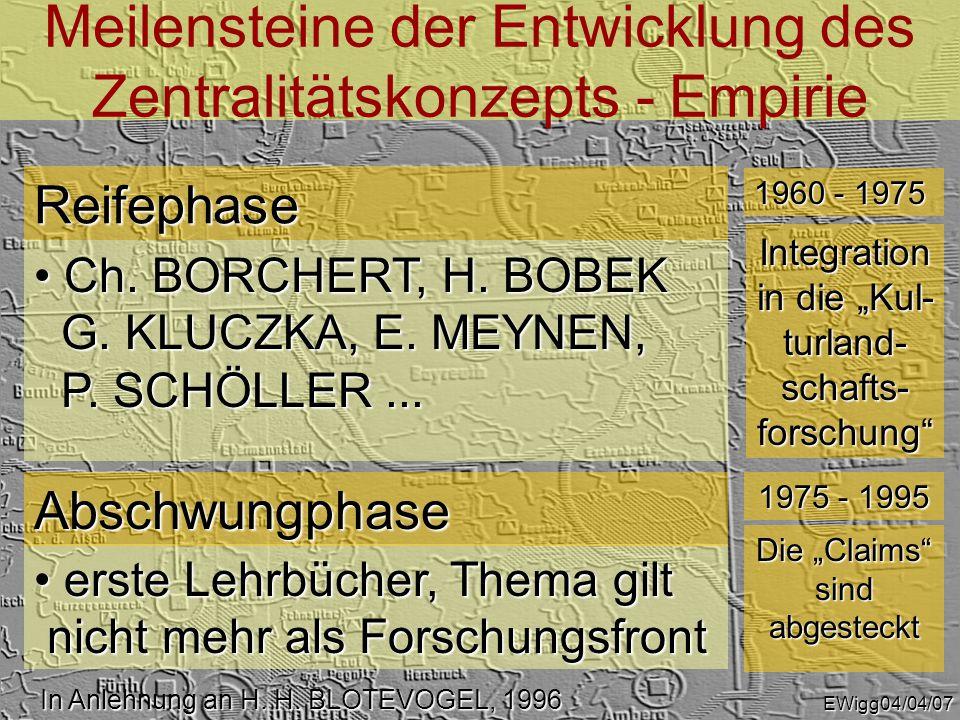 Probleme der Bereichsabgrenzung Zentraler Orte EKZ EWigg04/04/24