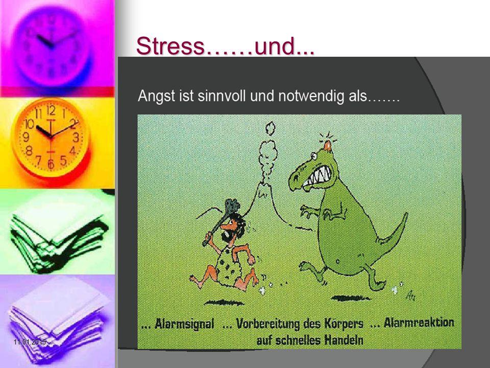 Stress……und...