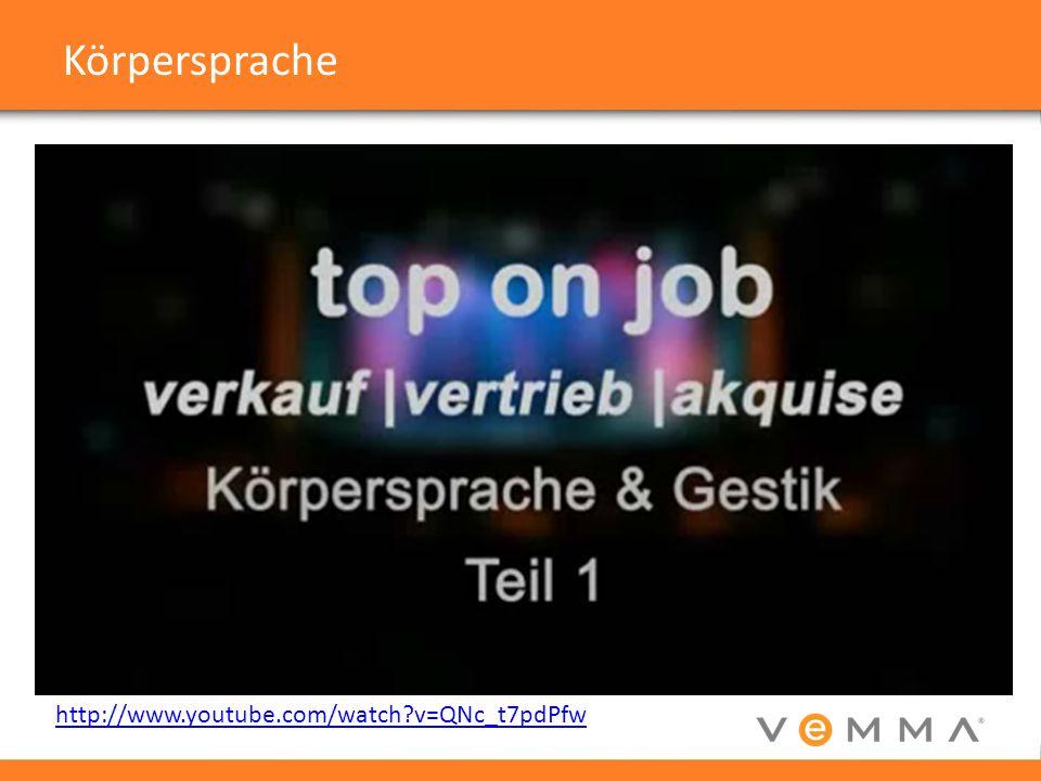 Körpersprache http://www.youtube.com/watch?v=QNc_t7pdPfw