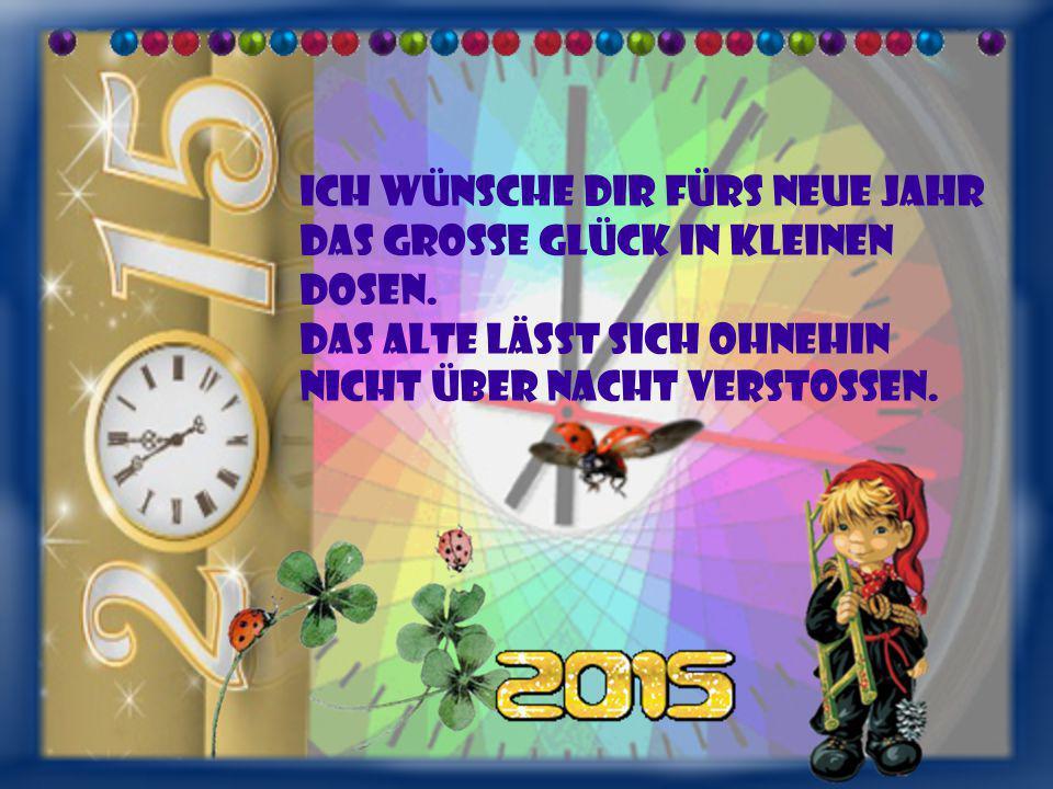 Ich wünsche dir fürs neue Jahr... von Elli Michler