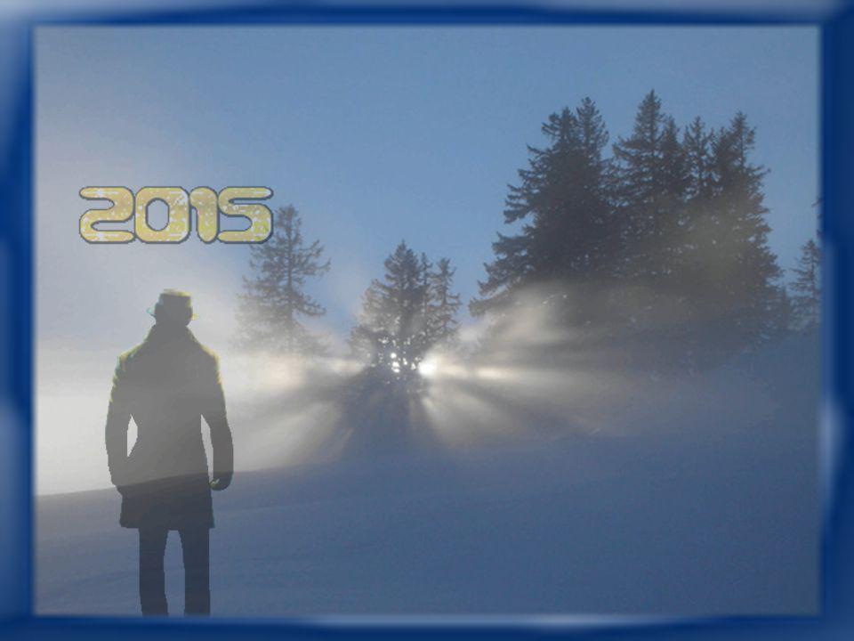 Erwarte nicht vom ersten Tag des neuen Jahres gleich zuviel! Du weißt nicht, wie er's treiben mag, es bleibt beim alten Spiel.