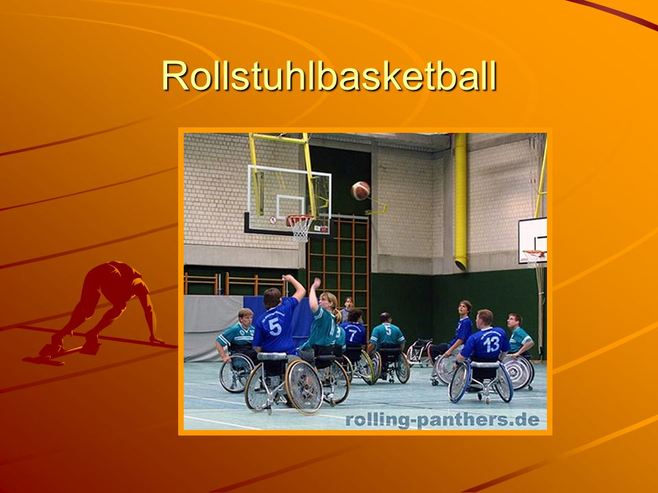 Quellenverzeichnis Protesen http://www.sanitaetshaus-bielefeld.de/prothetik.html Rollstühle http://de.wikipedia.org/wiki/Rollstuhl Basketball http://www.drs-rollstuhlbasketball.de/ http://www.drs-rollstuhlbasketball.de/http://www.drs-rollstuhlbasketball.de/ Blindenfußball http://www.taz.de/regional/berlin/aktuell/artikel/1/rasselbanden-auf-dem- fussballfeld/ http://www.taz.de/regional/berlin/aktuell/artikel/1/rasselbanden-auf-dem- fussballfeld/http://www.taz.de/regional/berlin/aktuell/artikel/1/rasselbanden-auf-dem- fussballfeld/http://www.taz.de/regional/berlin/aktuell/artikel/1/rasselbanden-auf-dem- fussballfeld/ Carl Joseph http://www.sueddeutsche.de/sport/344/451059/text/ Paralympics http://www.olympiade-infos.de/paralympics/index.html