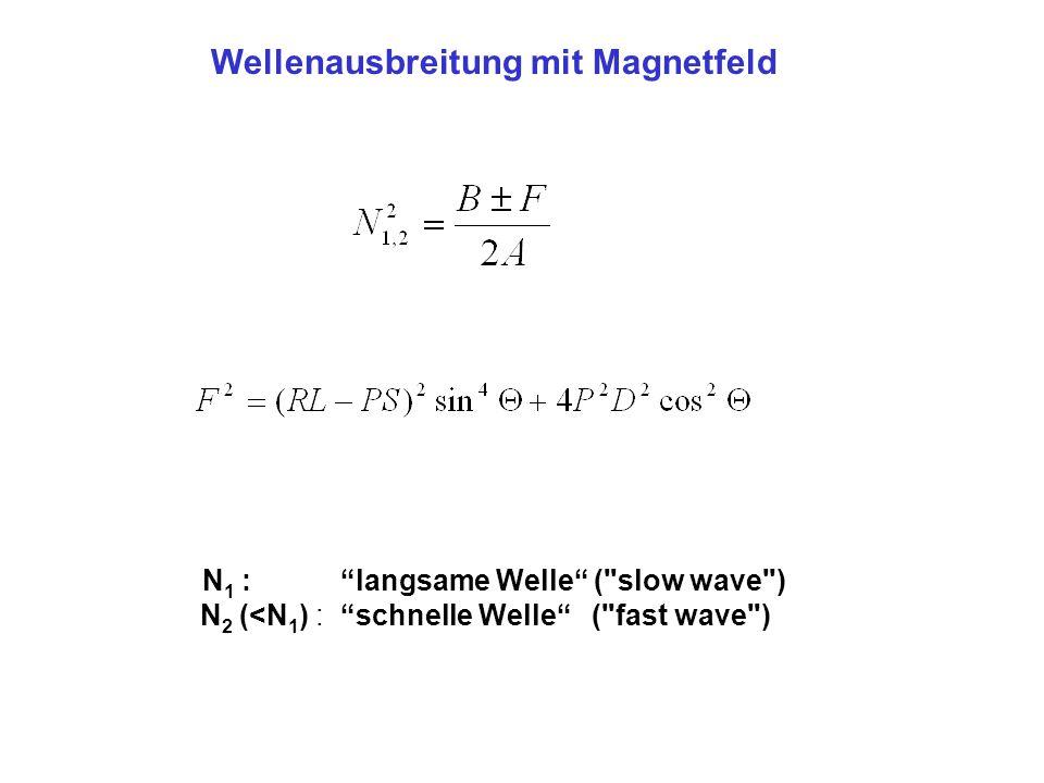 """N 1 : """"langsame Welle"""" ("""