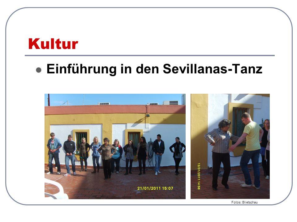 Kultur Einführung in den Sevillanas-Tanz Fotos: Blietschau