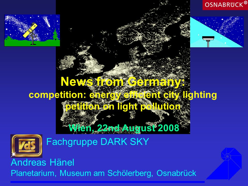 Federal competition energy efficient city lighting part of Climate Protection Initiative sale of emission allowances Federal Ministry for the Environment, Nature Conservation and Nuclear Safety Federal Environment Agency KfW Förderbank