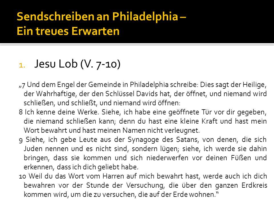 1.Jesu Lob (V.