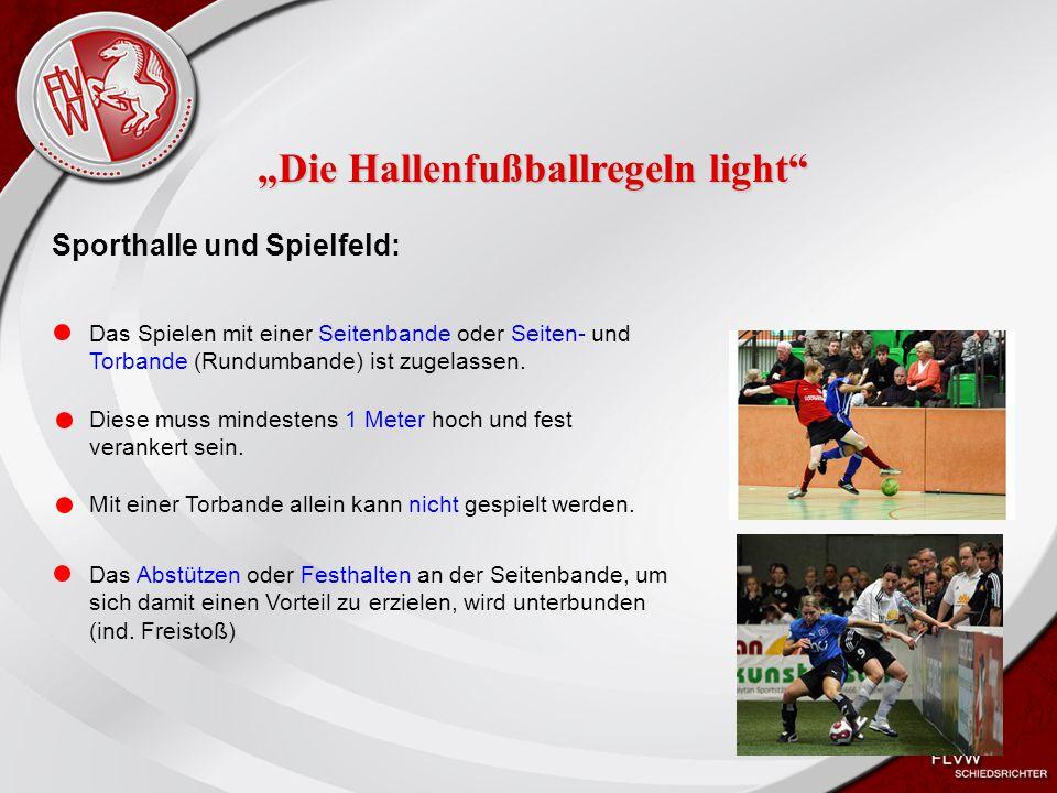 Heiko Schneider KSL Bochum FLVW Kreis Bochum www.kreis-bochum.de Während eines Hallenfußballspieles erhält der Spieler Nr.