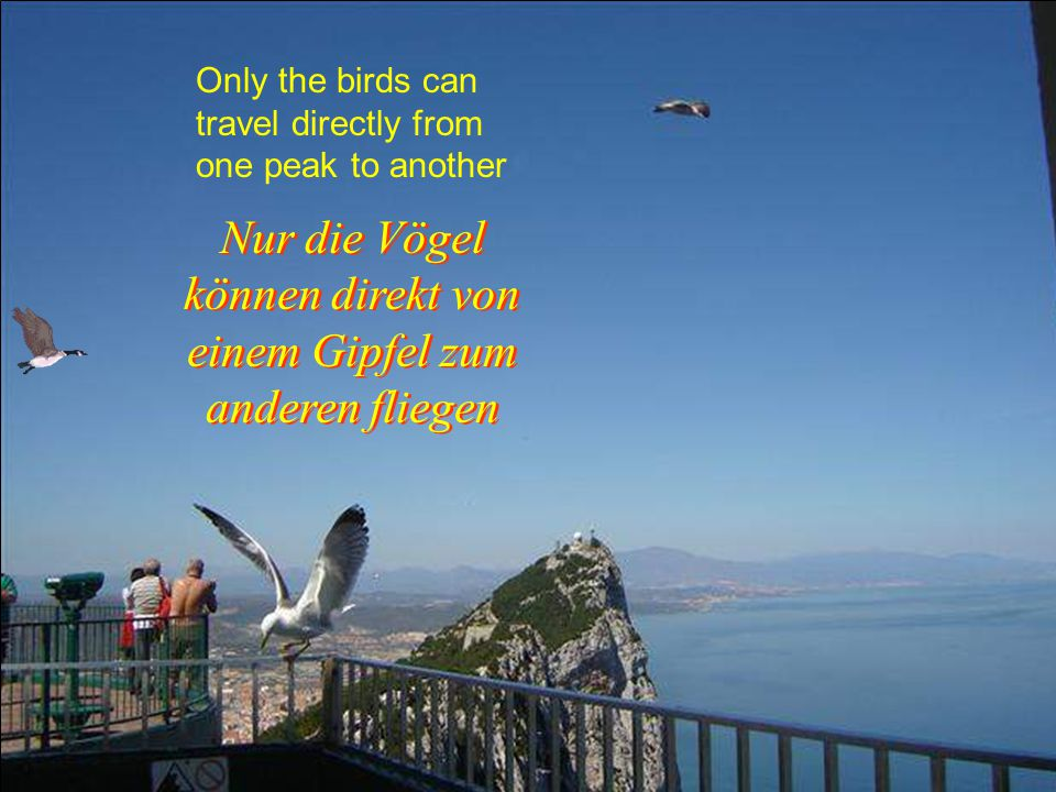 The other side of the peak Die andere Seite der Spitze Die andere Seite der Spitze...............................
