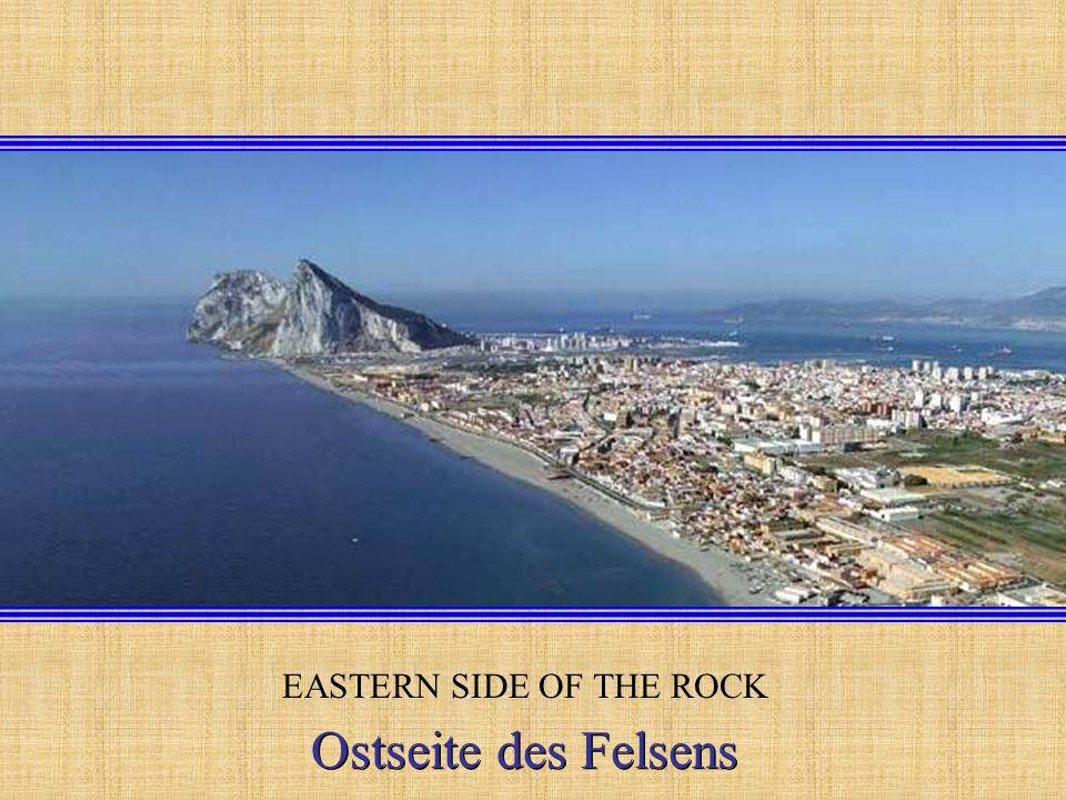 BAY OF GIBRALTAR AND BAY OF ALGECIRAS ROCK OF GIBRALTAR Bucht von Gibraltar und Bucht von Algerien Bucht von Gibraltar und Bucht von Algerien.........