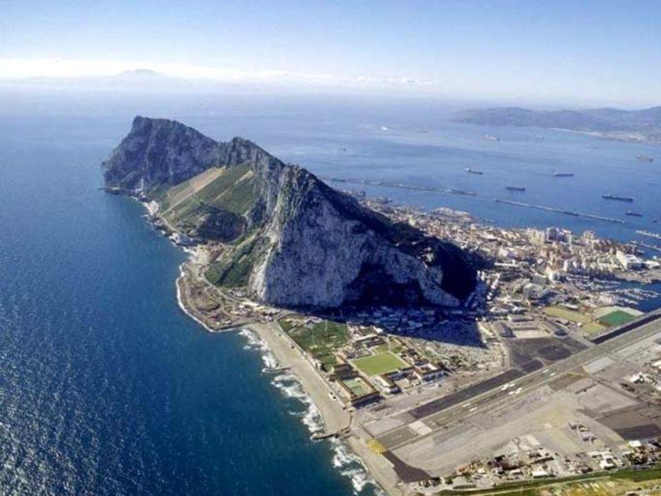 Gibraltar is also an important port Gibraltar ist auch ein wichtiger Hafen Gibraltar ist auch ein wichtiger Hafen...............................