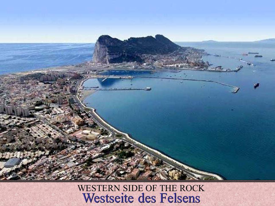 WESTERN SIDE OF THE ROCK Westseite des Felsens Westseite des Felsens...............................