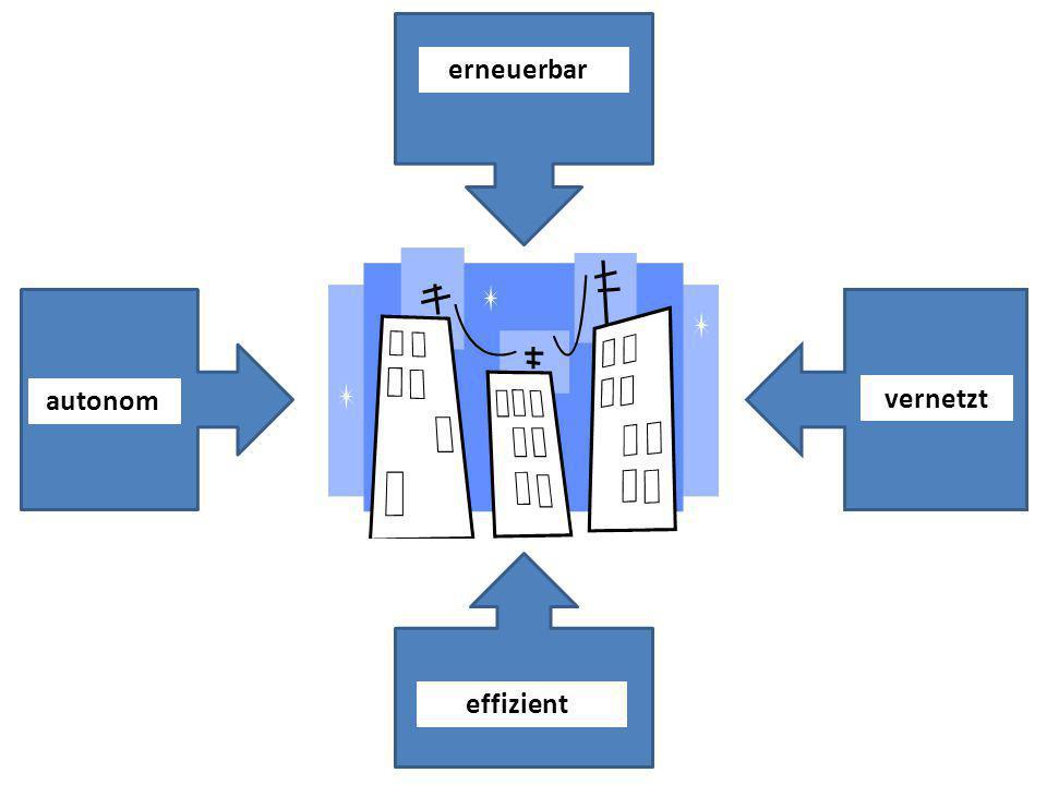 erneuerbar vernetzt autonom effizient